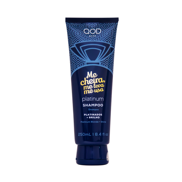 QOD Platinum Hair Shampoo 250ml